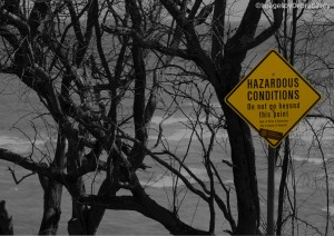 Hazardous Condition bw
